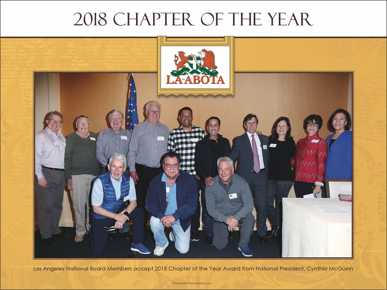 ABOTA CHAPTER OF THE YEAR 2018!